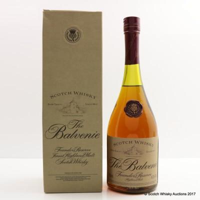 Balvenie Founder's Reserve Cognac Bottle 75cl