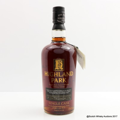 Highland Park 1995 11 Year Old Single Cask #1559 For Maxxium