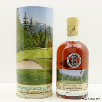 Bruichladdich Links The Vancouver Club Canada 16 Year Old