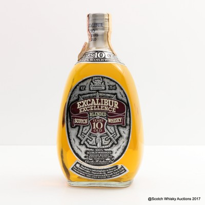 Excalibur Excellence 10 Year Old 75cl