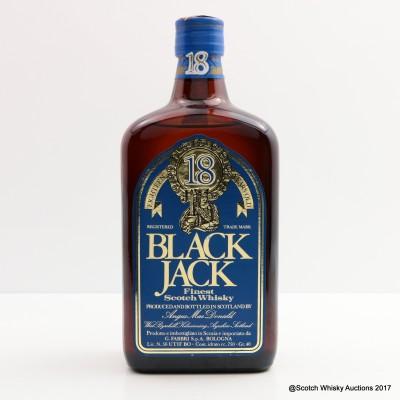 Black Jack 18 Year Old 75cl