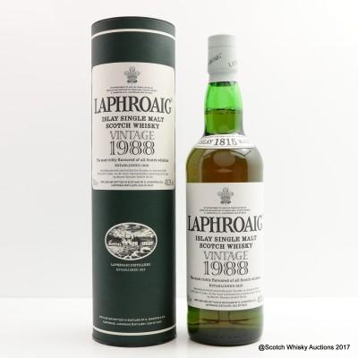 Laphroaig Vintage 1988 Bottled For Sweden