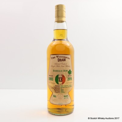 Dundalk Dew 2003 13 Year Old The Warehouse Dram