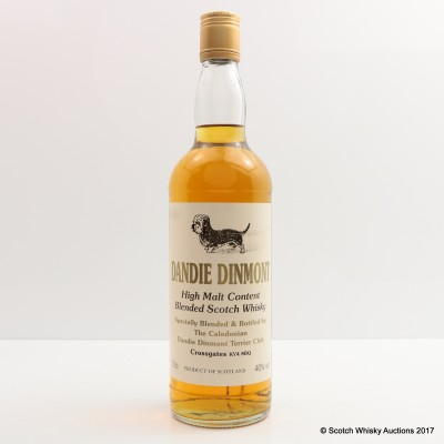 Blended Whisky For Caledonian Dandie Dinmont Terrier Club