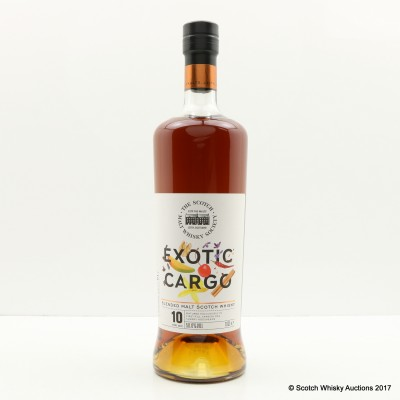 SMWS Exotic Cargo 10 Year Old Blended Malt