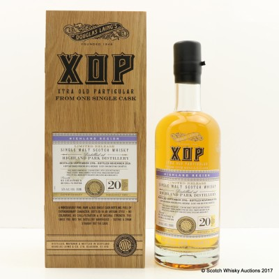 Highland Park 1996 20 Year Old XOP