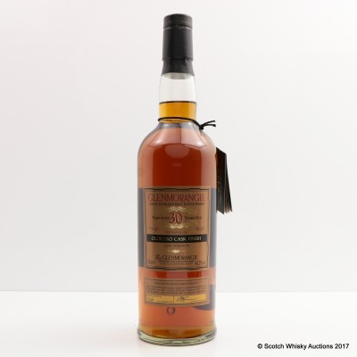Glenmorangie 1972 30 Year Old Oloroso Cask Finish