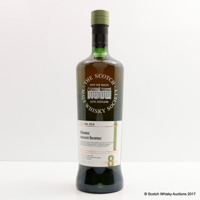 SMWS 66.104 Ardmore 2008 8 Year Old