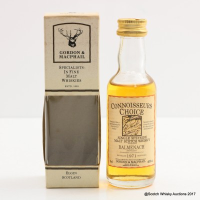 Balmenach 1971 Connoisseurs Choice Mini 5cl
