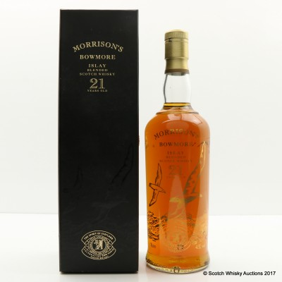 Morrison's Bowmore 21 Year Old Celebration Blend