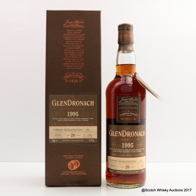 GlenDronach 1995 20 Year Old Single Cask #444