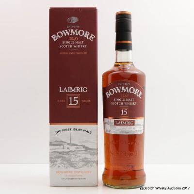 Bowmore 15 Year Old Laimrig Batch #4