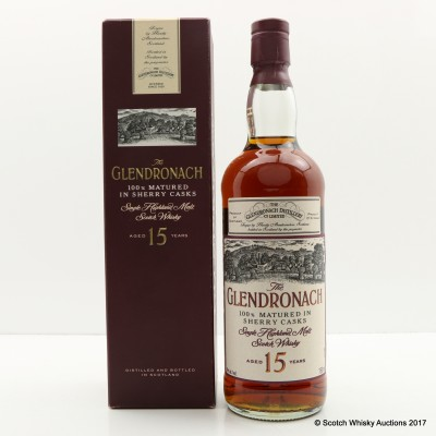 GlenDronach 15 Year Old Old Style 75cl