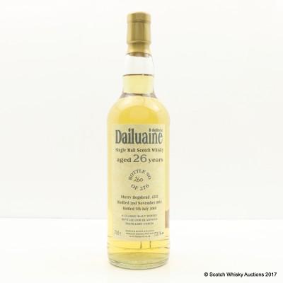 Dailuaine 1983 26 Year Old Bladnoch Forum Cask #4315