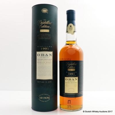 Oban 1991 Distillers Edition