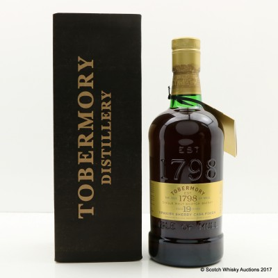 Tobermory 19 Year Old Spanish Sherry Cask