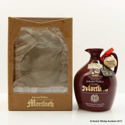 Mortlach 12 Year Old Johnnie Walker Decanter 75cl