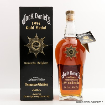Jack Daniel's 1954 Gold Medal 1L