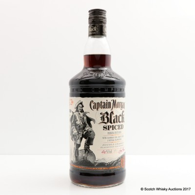 Captain Morgan Black Spiced Rum 1L