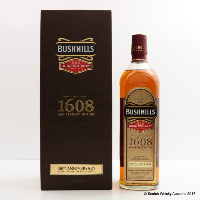 Bushmills 1608 400th Anniversary 75cl