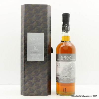 Oban 21 Year Old 2013 Release