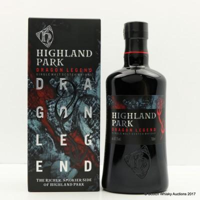 Highland Park Dragon Legend