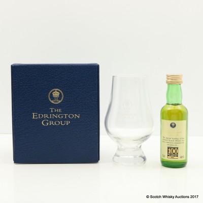 Edrington Group 100 Best Company To Work For Mini 5cl & Glencairn Glass Set