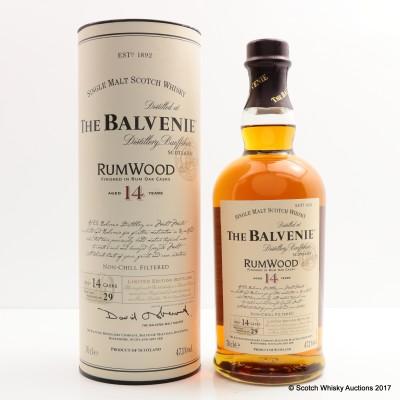 Balvenie 14 Year Old RumWood