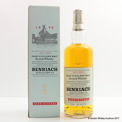 BenRiach 10 Year Old 75cl
