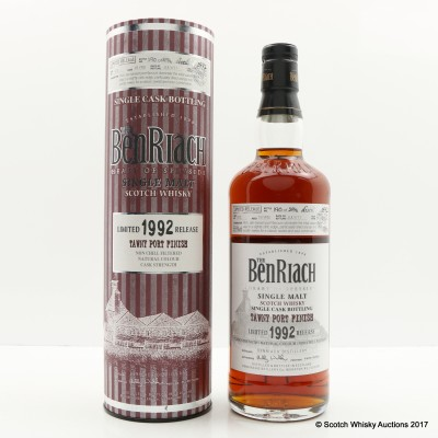 BenRiach 1992 19 Year Old Single Cask #972