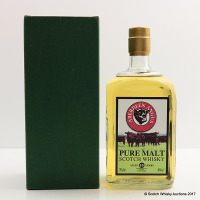 Aberdeen Angus Pure Malt 10 Year Old