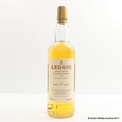 Ledaig 20 Year Old