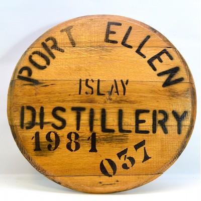 Port Ellen Cask End 1981