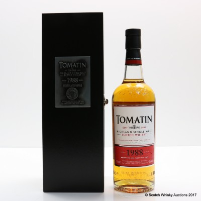 Tomatin 1988 27 Year Old Tawney Port Batch #2