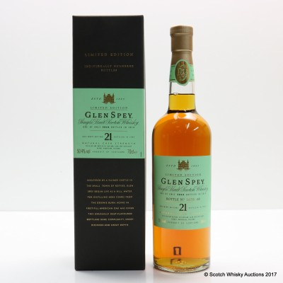 Glen Spey 1989 21 Year Old