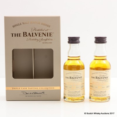 Balvenie Triple Cask Tasting Collection 2 x 5cl