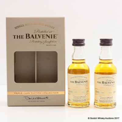 Balvenie Triple Cask Tasting Collection 2 x 5cl