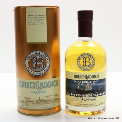 Bruichladdich Valinch Ghost Ship 50cl
