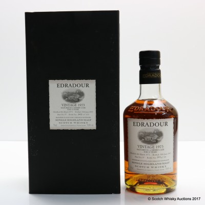 Edradour 1973 30 Year Old Sherry Cask #9