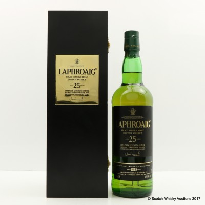 Laphroaig 25 Year Old Cask Strength 2013 Edition