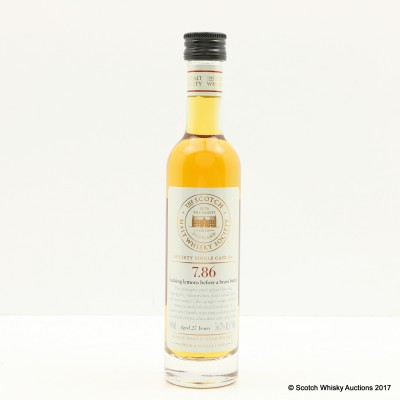 SMWS 7.86 Longmorn 27 Year Old 10cl