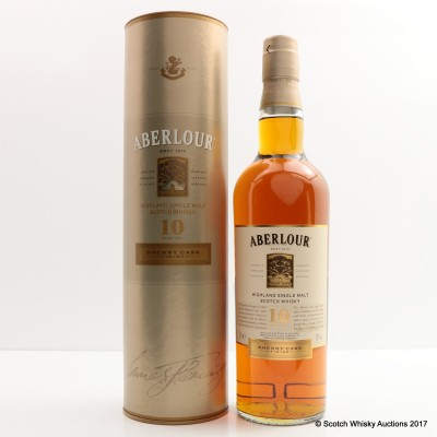 Aberlour 10 Year Old Sherry Cask Finish