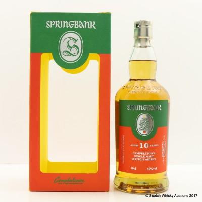 Springbank 10 Year Old Christmas Edition