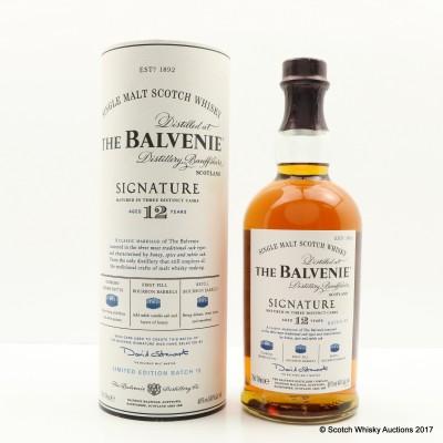 Balvenie 12 Year Old Signature Batch #3