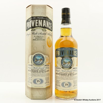 Benrinnes 1995 18 Year Old Provenance