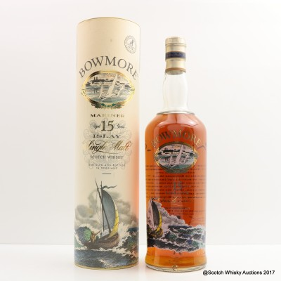 Bowmore 15 Year Old Mariner 1L