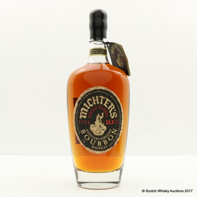 Michter's Single Barrel 10 Year Old 75cl