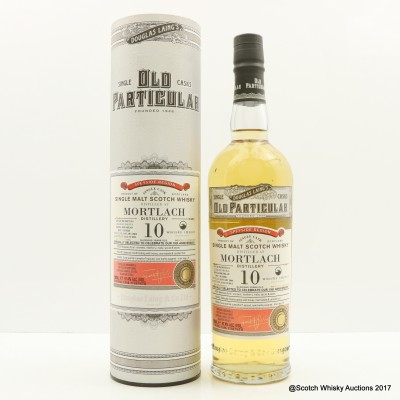 Mortlach 2004 10 Year Old Old Particular 10th Anniversary
