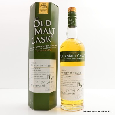Bowmore 1992 15 Year Old Old Malt Cask