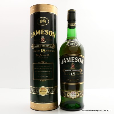 Jameson 18 Year Old Master Selection